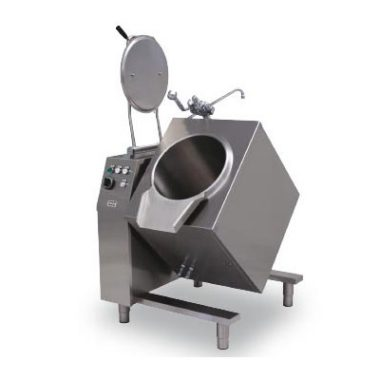 Commercial Boiling Pan. 50 Litre. Gas. Tilting. Indirect. Icos BPB.IG 50