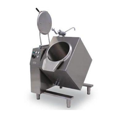 Commercial Boiling Pan. 50 Litre. Gas. Tilting. Direct. Icos BPB.GD 50