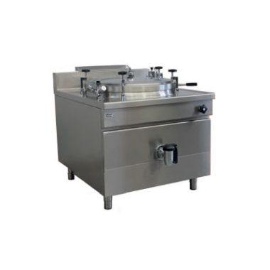 Commercial Boiling Pan. 100 Litre. Gas. Autoclave. Icos PQF.IG 100/A