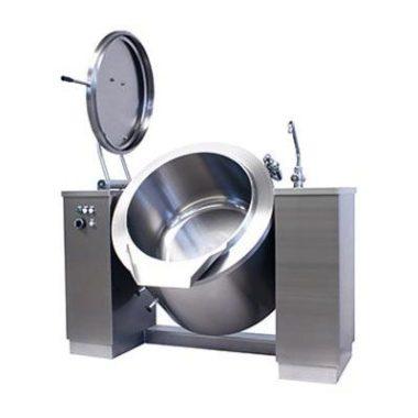 Commercial Boiling Pan. 100 Litre. Gas. Tilting. Icos PTBC.GD 100