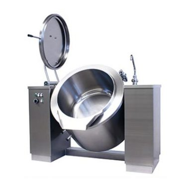 Commercial Boiling Pan. 500 Litre. Steam. Indirect. Icos PTBC.V 500