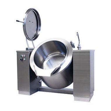 Commercial Boiling Pan. 100 Litre. Steam. Tilting. Icos PTBC.V 100