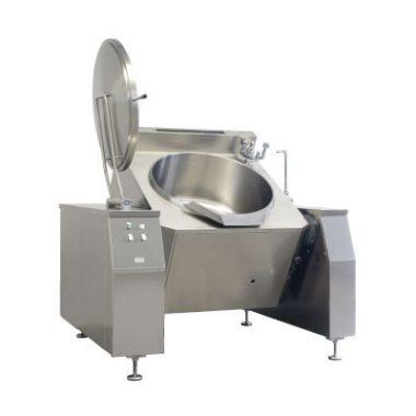 Commercial Boiling Pan. 500 Litre. Tilting.  Auto. Icos PTBL.V 500