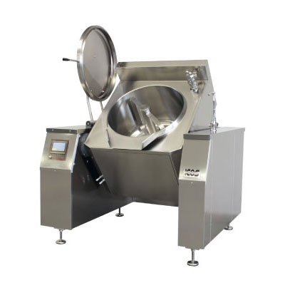 Commercial Boiling Pan. 300 Litre. Gas. Tilting. Auto. Icos PTBS.IG 300