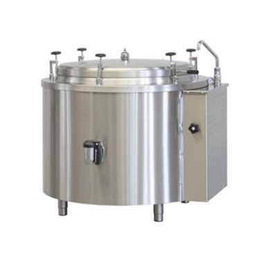 Commercial Boiling Pan. 200 Litre. Steam. Autoclave. Icos PTF.V 200/A